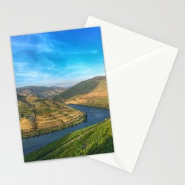 Beautiful landscape of the Douro Valley, Portugal Stationery Cards