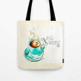 X is for eXtra strong Tote Bag
