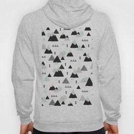 Geometric Fuji mountain japan travel pattern Hoody