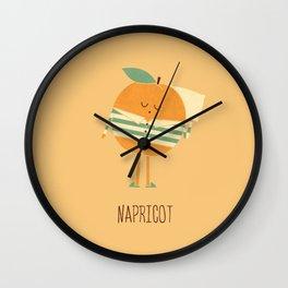 Napricot Wall Clock