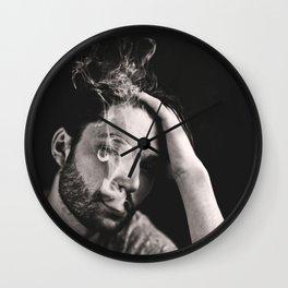 smoking jaw Wall Clock