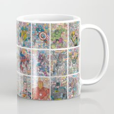 Vintage Comic Superheroes Galore (Limited Time) Mug