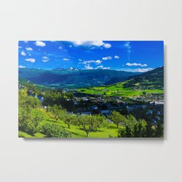 Norway summer Metal Print