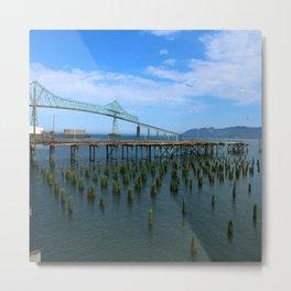 Megler Bridge -  Astoria Metal Print