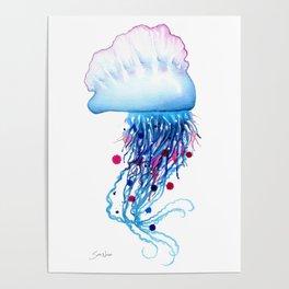 Manowar Jellyfish Poster