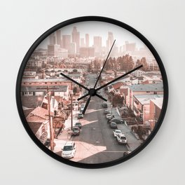 Los Angeles City California Wall Clock