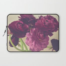 Romantic Ranunculus Laptop Sleeve