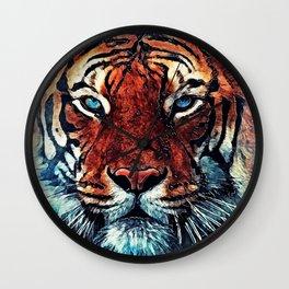 Tiger spirit Wall Clock