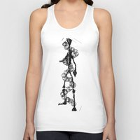 dna Tank Tops featuring 'DNA' by ABITAR