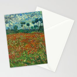 Vincent Van Gogh Poppy Field Stationery Cards