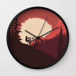 Trails Colors Wall Clock
