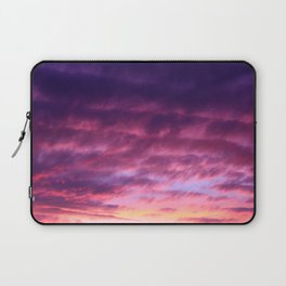 Pink & Purple Sunset Laptop Sleeve