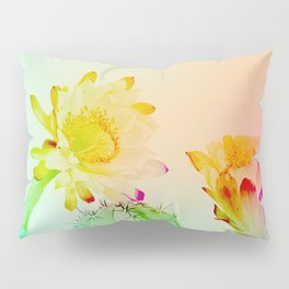 Cactus Flowers Pillow Sham