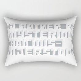 Rather Be Mysterious... Rectangular Pillow
