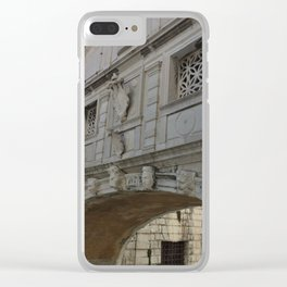 Bridge of Sighs, Doge's Palace, Venice, Italy Clear iPhone Case
