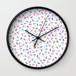 Unicorns! Wall Clock