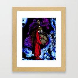 WOLF CAVE Framed Art Print