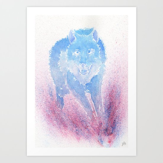Wild Run Art Print