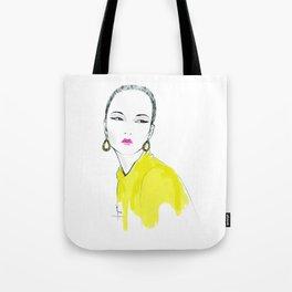 just yellow Tote Bag