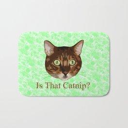 Catnip Crazed Cat Bath Mat