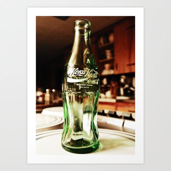 Glass as art Art Print