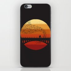 Into the Setting Sun iPhone Skin
