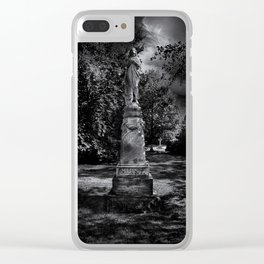Tombstone Shadow No 2 Clear iPhone Case