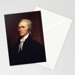 Alexander Hamilton Portrait by John Trumbull (1806) Stationery Cards