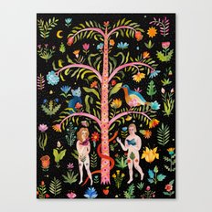 Adam & Eve Canvas Print