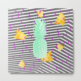 Pineapple #1 Metal Print