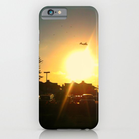 Air Plane In The Sun iPhone & iPod Case