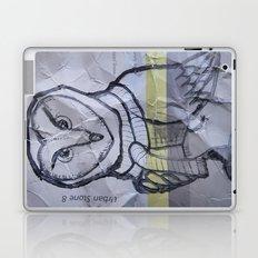 gray owl 01 Laptop & iPad Skin
