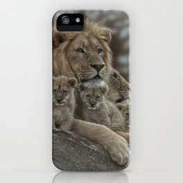 Lion - Family Man iPhone Case