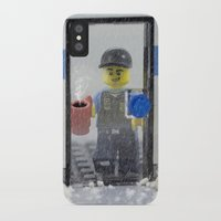 police iPhone & iPod Cases featuring Police Officer by Pedro Nogueira