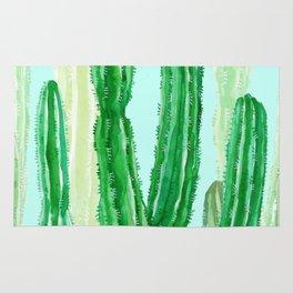 cactus green Rug