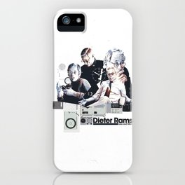 DIETER RAMS: DESIGN HEROES iPhone Case