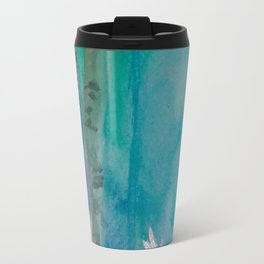 White Stag of the Winter Solstice Travel Mug