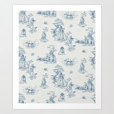 Toile de StarWars Art Print