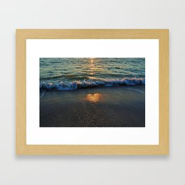 Yes, the Ocean Knows Framed Art Print