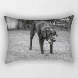 Play Dog Rectangular Pillow