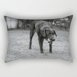 Play Dog Rectangular Pillow