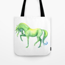 Emerald Horse Tote Bag