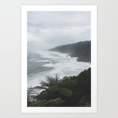 Great Coast Road II Art Print
