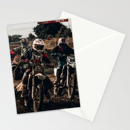 Dirtbike Rider Stationery Cards