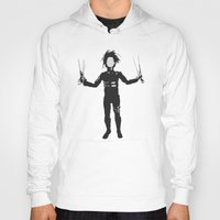 edward scissorhands Hoodies featuring Edward Scissorhands by Steal This Art