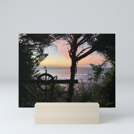 Secret Playground Sunset Mini Art Print