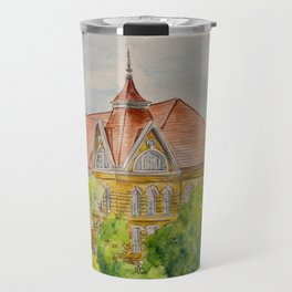 Texas State (SWT) University Old Main Building, San Marcos, TX Travel Mug