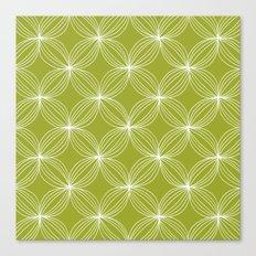 Star Pods - Green Canvas Print