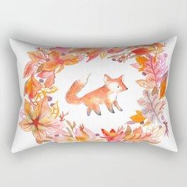 Fall Wreath Rectangular Pillow