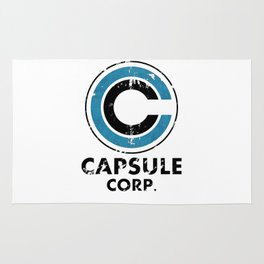 Capsule Corp Vintage bright Rug
